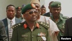 尼日利亞已故獨裁者阿巴查 (資料圖片)