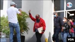 El diputado sandinista Edwin Castro inscribiendo alianzas electorales el pasado 9 de junio de 2021. Foto Houston Castillo, VOA.