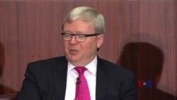 陆克文:中俄战略携手抗衡美国