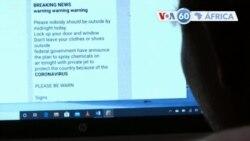 "Manchetes africanas 2 abril: Twitter e Facebook querem combater ""fake news"" sobre Covid-19"
