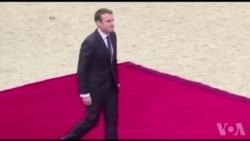 Investiture d'Emmanuel Macron (vidéo)