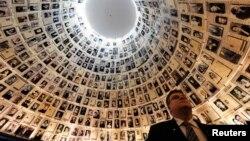 Лінкявічюс у музеї історії Голокосту у Єрусалимі