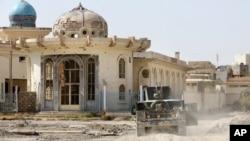 Pasukan Irak terus memperkuat posisi di kota Fallujah yang semula dikuasai militan ISIS (22/6).