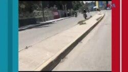 Ayiti: Aktivite yo paralize nan kapital la, Pòtoprens, nan moman nèg ame ap simen latèrè nan plizyè katye vil la.