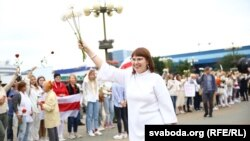 Одна із затриманих – Ольга Ковалькова