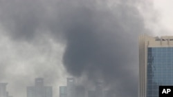 The smoke rising from last week's riots in Bangkok may presage a hazy future for Thailand's economy