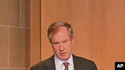 彼得森国际经济研究所高级研究员拉迪周一在华盛顿举办的研讨会上