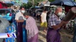 Myanmar: COVID leo thang, dân xếp hàng mua oxy