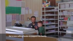 Kurdish Fighter Disabled by IS Finds Redemption by Opening Bookstore