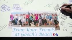 2018-04-23 美國之音視頻新聞: 緬因州居民海灘集會紀念芭芭拉布殊