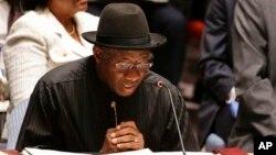 Shugaba Goodluck Jonathan.