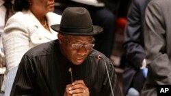 Shugaban kasar Najeriya Goodluck Jonathan na jam'iyyar PDP