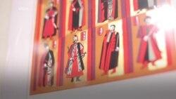 Виставка української графіки в Інституті модерного мистецтва у Чикаго. Відео