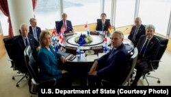 G-7 လို႔ ေခၚတဲ႔ စက္မႈ ထိပ္သီး ၇ ႏုိင္ငံက ႏုိင္ငံျခားေရး ၀န္ႀကီးေတြ ဂ်ပန္ႏုိင္ငံ ဟီရိုရွီးမားမွာ ၂ ရက္ၾကာ ညီလာခံ က်င္းပ။