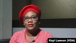 Kafui Adjodi, survivante du cancer du col de l'utérus. Lomé, 03 février 2021.
