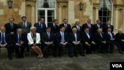 工业化七国的财长5月11日在伦敦举行会议
