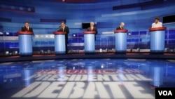 Los precandidatos tienen además una decena de debates pendientes.