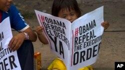 Maduro no pudo entregar a Obama los millones de firmas que, según él, fueron recogidas en apoyo a la derogación de la medida.
