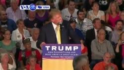 VOA60 America - Trump Under Fire for Obama Muslim Flap - September 18, 2015