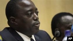 Joseph Kabila (Addis Abeba, Ethiopie, 24 fév. 2013)