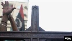 Warga Kristen Pakistan di Karachi memrotes pembunuhan terhadap Menteri Shahbaz Bhatti, Kamis (3/3).