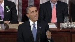 VOA连线:奥巴马国情咨文 谴责朝鲜核试验