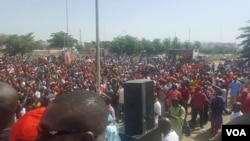 Manifestation contre la révision de la Constitution à Bamako, Mali, 1er juillet 2017. (Facebook/Mali Koura)