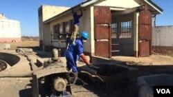Isibanga sesibili sokuhlambulula amanzi aphuma ezambuzini koBulawayo