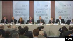 미국 워싱턴의 전략국제문제연구소(CSIS)에서 5일 아시아 정책에 관한 토론회가 열렸다.