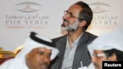 ο ηγέτης της συριακής αντιπολίτευσης Μουάζ αλ Χαντίμπ