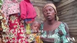 Athari za Volcano : Wakazi wa Goma, DRC waomba msaada