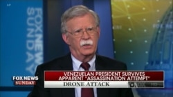 Bolton Denies Any US Involvement in Drone Attacks in Venezuela