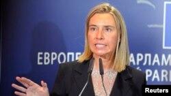Ủy viên Chính sách Đối ngoại của Liên hiệp Châu Âu, bà Federica Mogherini.