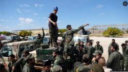 Бойцы Ливийской национальной армии Халифы Хафтара перед неудачным наступлением на Триполи, архив