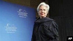 IMF新任总裁拉加德资料照