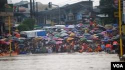 Trận lụt này được coi là tồi tệ nhất mà Philippines chứng kiến trong vòng 3 năm