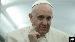 El Papa Francisco no dio detalles de qué países latinoamericanos y africanos, visitará este próximo año.