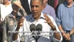 Rencana Pekerjaan Obama - Liputan Berita VOA 18 Oktober 2011