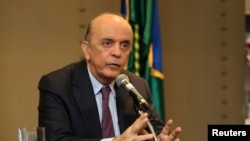 Jose Serra, ministro brasileiro das Relações Exteriores