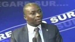 Eddy Isango a joint Me Georges Kapiamba, avocat de l'abbé Vincent Tshiomba