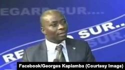 Me Georges Kapiamba, avocat et coordonnateur de l'Association congolaise pour l'accès à la justice (ACAJ), Kinshasa, 16 octobre 2013.