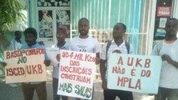 Manifestantes querem mais vagas na unviersidade de Benguela - 1:04