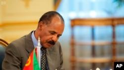 Presidente da Eritreia Isaias Afwerki