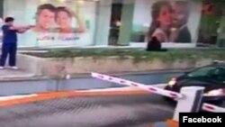 El Consulado General de los Estados Unidos en Guadalajara, compartió a través de su cuenta de Facebook un video en el que también se observa al presunto agresor del oficial.