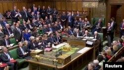 برطانوی پارلیمان کے دارالعوام کا ایک منظر (فائل فوٹو)