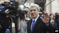 주제 소크라테스 포르투갈 전 총리. (자료사진)