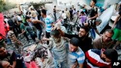 مقامات صحی فلسطینیان: در حملات امروز جمعاً ٣٠ نفر کشته شد