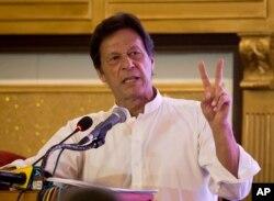 پاکستان تحریکِ انصاف کے سربراہ عمران خان