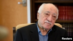 FILE - U.S.-based Turkish cleric Fethullah Gulen, whom Ankara says orchestrated the attempted putsch.