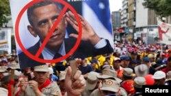 Maduro repudió las declaraciones de Obama sobre los gobiernos que sofocan a la oposición.